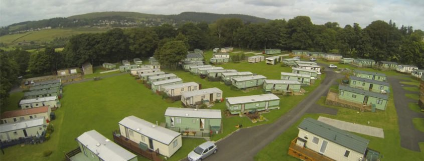 Beautiful Coquetdale Valley Pitches  Coquetdale Caravan Park