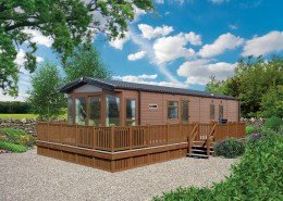 2016 Willerby Aspen Lodge 40*13 2 bed Exterior 2